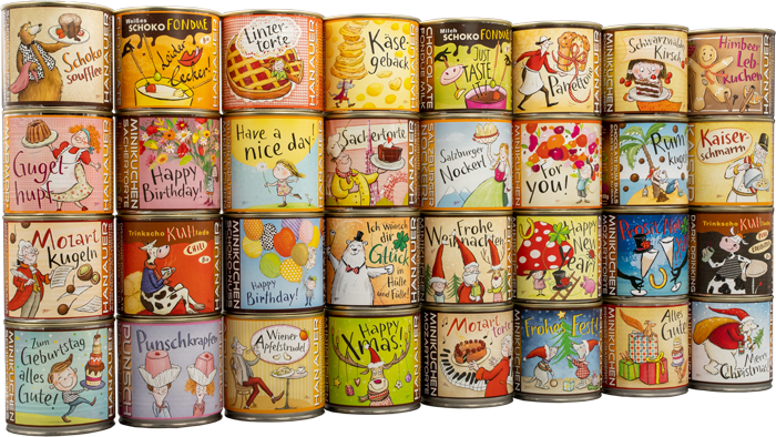 Minikuchen Privat Labels